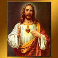 Hot Sale Newest Repro traditional jesus christ oil paintings