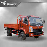 Chinese 5 ton mini truck 4x4 /4x2 diesel light cargo truck