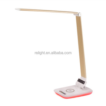 Special design table lamp, wireless phone charger