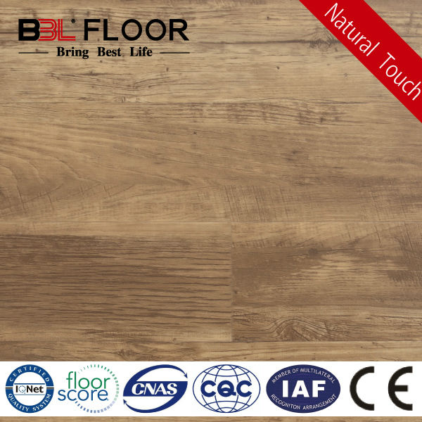 3mm Rustic Cypress Registered in Emboss wood effect plastic flooring BBL-96092-F