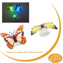 goldmore2 Led small fiber optic Christmas butterfly candle light/Festival decorating light/beautiful night light