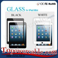 Best Black and White Color Screen Tempered Glass Scratch Guard Protector Manufacturer For iPad Mini