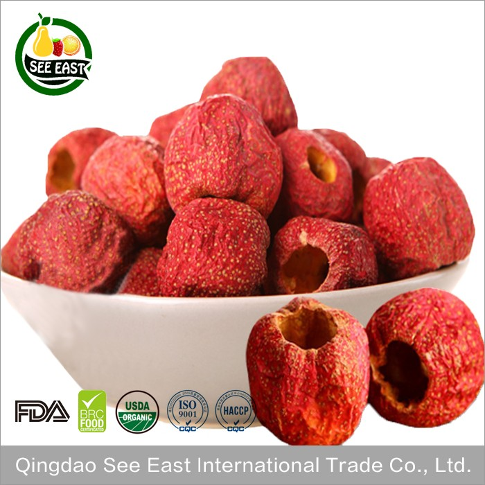 USDA certified organic healthy fruits freeze dried hawthorn berries