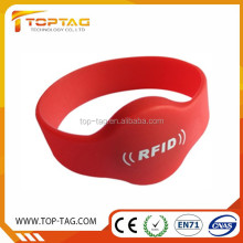 Waterproof Hot high temperature resistance Rfid Silicone Wristband