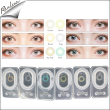 Hidrocor Aurora yearly colored contact lenses