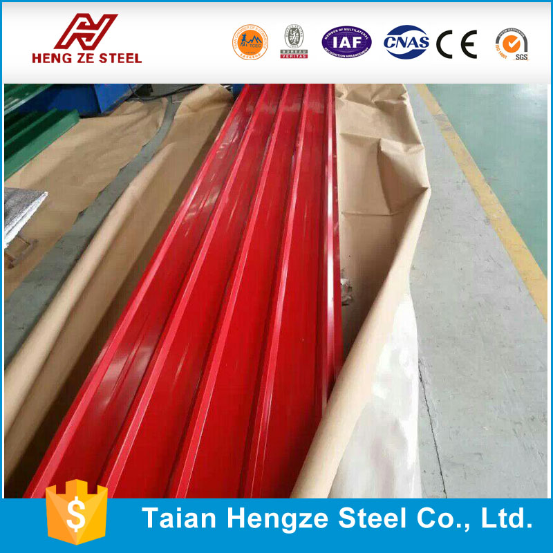 PPGI/PPGL Corrugated Steel Sheet/Metal Roofing material