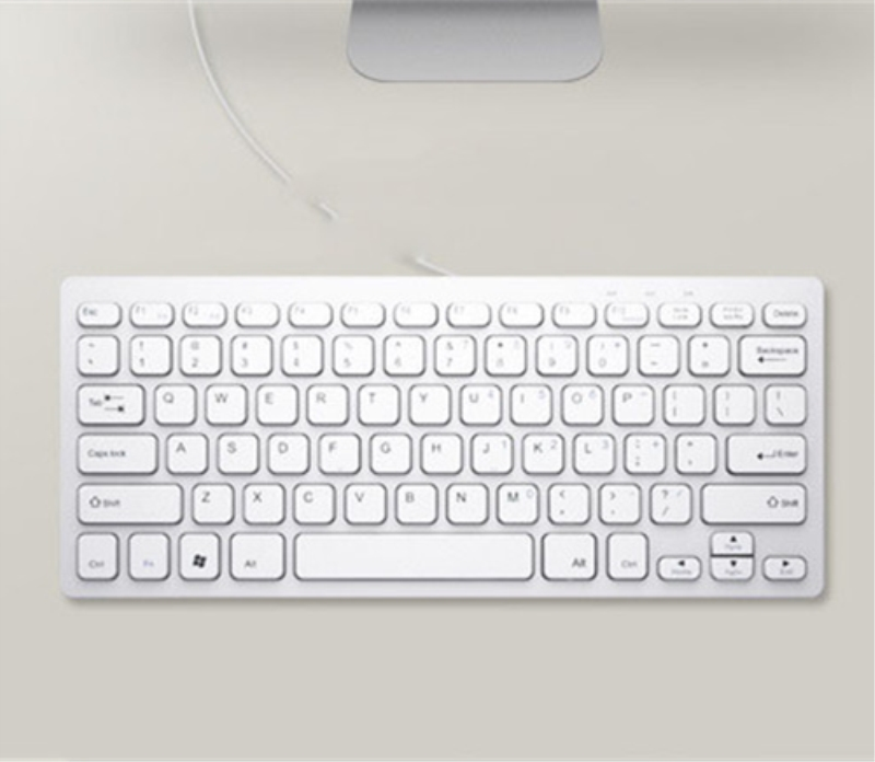 Factory Wholesale Mini USB Wired Keyboard For iPad PC Portable Slim Computer Keyboard CA5424