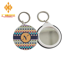 High quality mirror tin button badge cheap custom badge