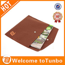 Customized felt material laptop sleeve bag tablet case