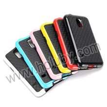 Double Color Cube Pattern TPU+PC for Samsung Galaxy S5 mini Hybrid Case