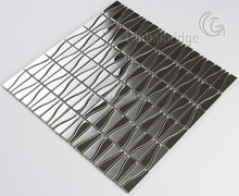 Good quality metal tile stainless steel mosaic wall decor tiles