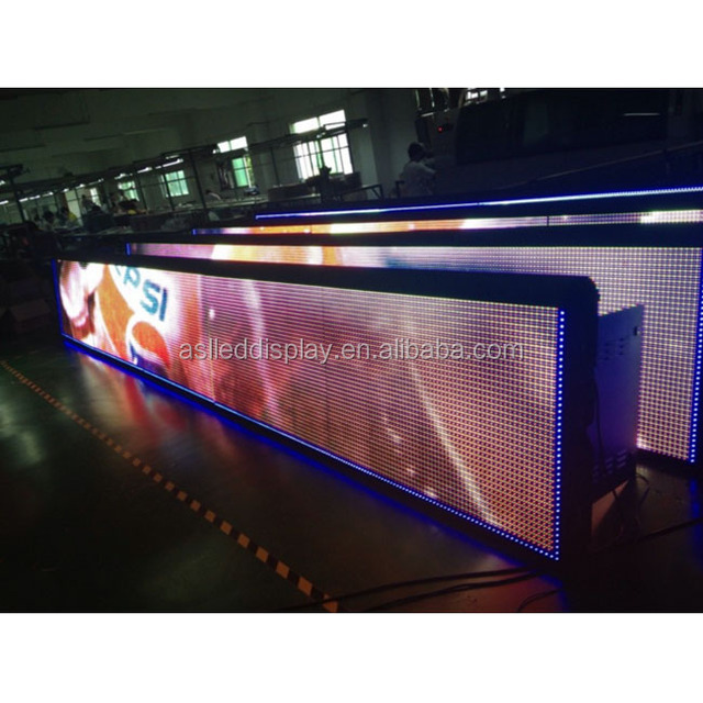 led display P10 outdoor football stand color led display