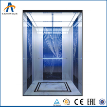 Machine Room Less Attractive Construction Elevators Tall Building Passenger Lift