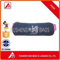 promotion rounded pen pouch pencil bag printed pencil case