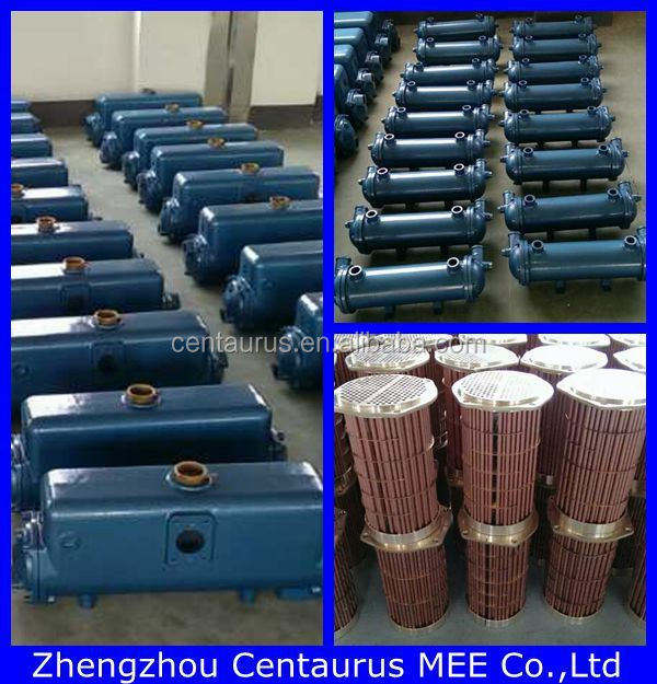 Hot sell asme ss/cs shell and tube heat exchanger in china with lowest price