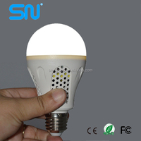 Great quality 5w 7w 9w emergency LED rechargeable bulb lighting for electricity cut down