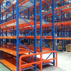 warehouse storage pallet racks upright and beams