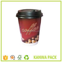 Shenzhen factory New style custom coffee paper cup designs