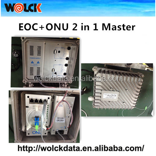 2015 Hot wolck network products WK-EM01 Epon FTTH Fiber solution EOC+ONU module 2 in 1 EOC Master