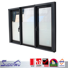 China factory anodized aluminum double casement sash window