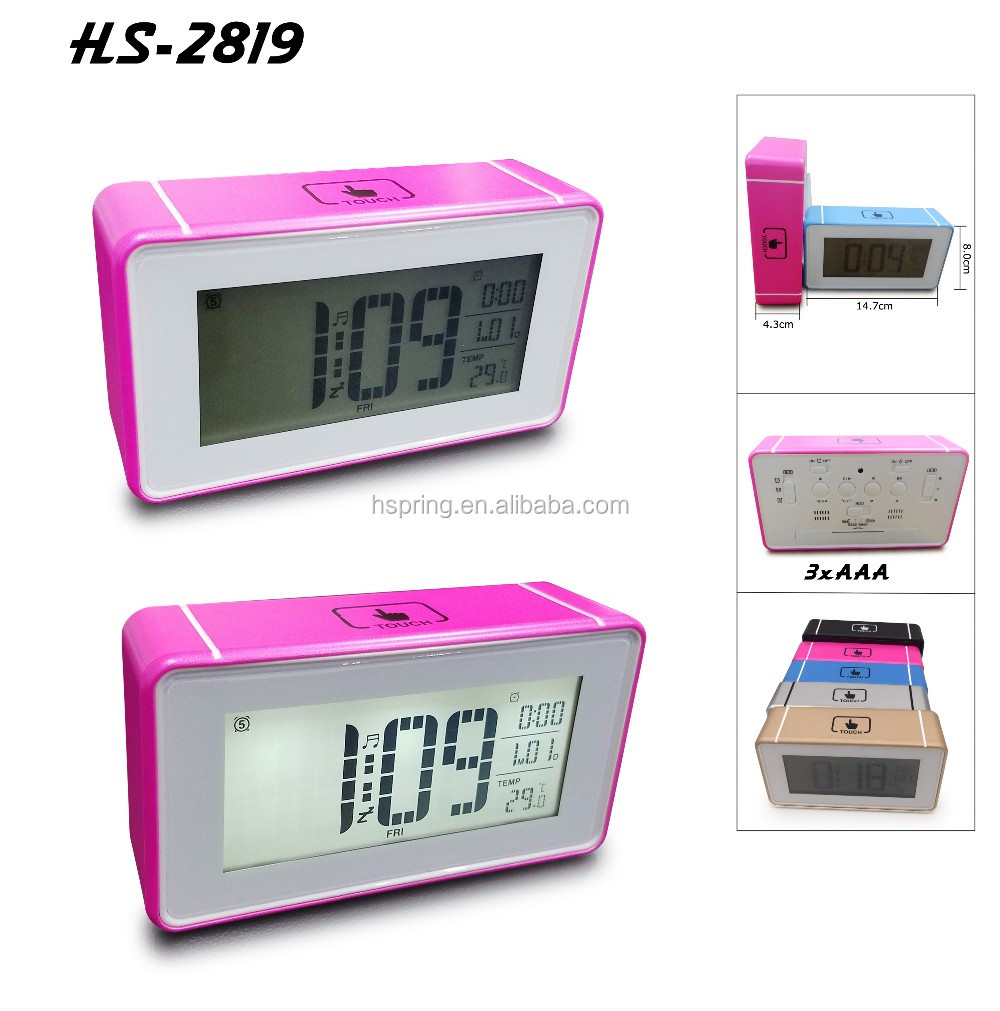 2016 new design good price promotional digital clock
