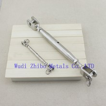Stainless Steel Rigging Screw Closed Body Jaw Jaw Small Turnbuckle