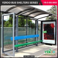 latest technology street furniture outdoor car shelter
