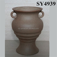 Wholesale small ceramic flower pot painting designs