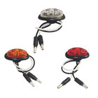 0.8 inch Mini Oval LED Marker & Clearance Light led tail lights 12v truck