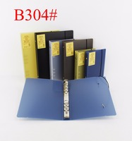 Office stationery a5 hard cover plastic pp file folders 6 ring binder