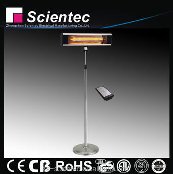 Scientec AH18CSR-SS Remote Control Stand Heater Manufacture