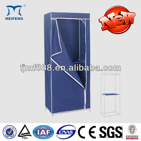 Home Furniture 16mm Simple Folding Non Woven Wardrobes for Small Spaces