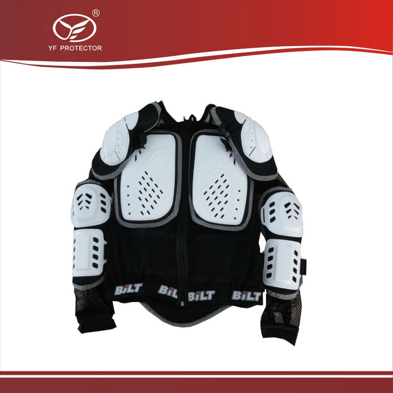 Motorcycl protective body suit, CE running body armour, motocross leather body armour
