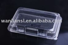 Plastic Hinged Food Container