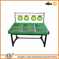 Wholesale Supermarket vegetable and fruit rack