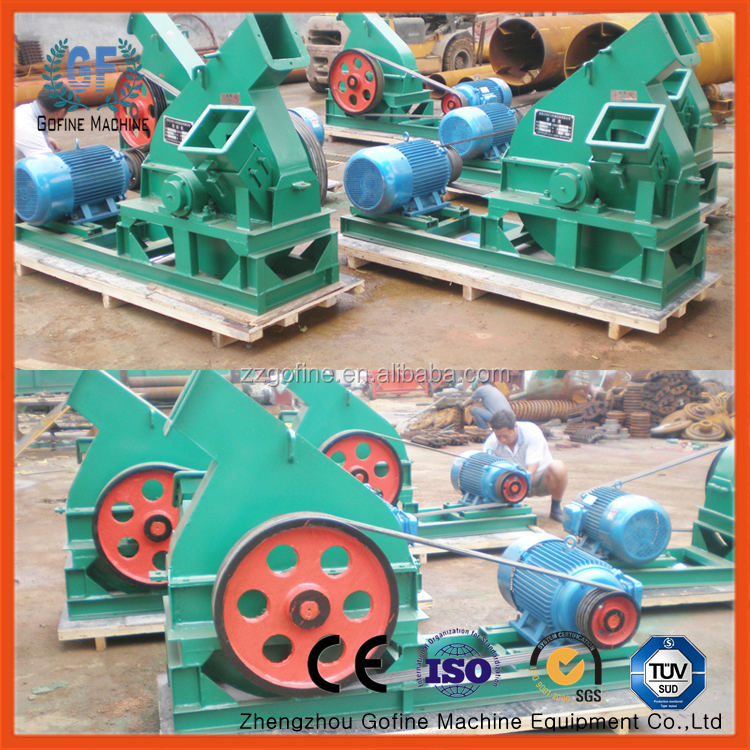 large disc chipper and wood chipping machine