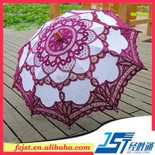 Chinese gifts crafts cheap lace umbrella souvenir for friends