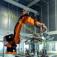 6 axis robot arm of industrial assembling robot used for auto assembling