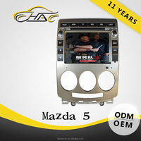 Auto special OEM 2 din car dvd gps for mazda 5 with car gps USB SD FM AM