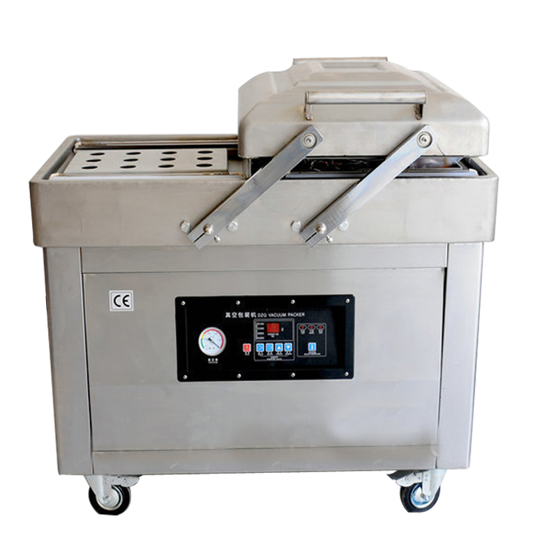 DZ500/2C Automatic vacuum skin packing machine with double Chamber