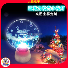 Christmas Party Favors Make Engraved Party Favors Wonderful Colorful Indoor 3D Night Lighting