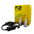 Easy installation Mini size bulb 36W 12V 24V F2 CR 6500K H4 H13 9004 9007 P9 Auto Car LED Headlight bulbs
