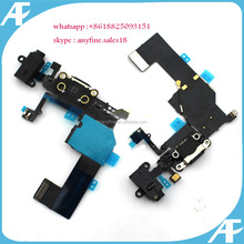 For Apple Iphone 5c Port Dock Connector Charging Flex Cable Original replacement,USB Charger Charging Dock Port Flex Cable