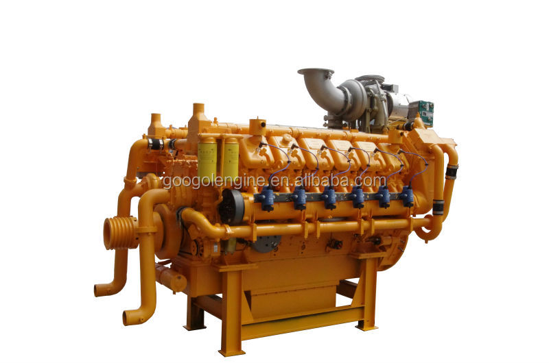 Googol 50Hz 1500RPM Natural Gas Diesel Engine 1330kW