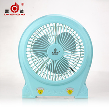 Plastic USB Rechargeable Portable Lithium Battery Operated Table Fan