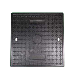 Guard against theft pvc square manhole cover 600*600 30T environmentally sound