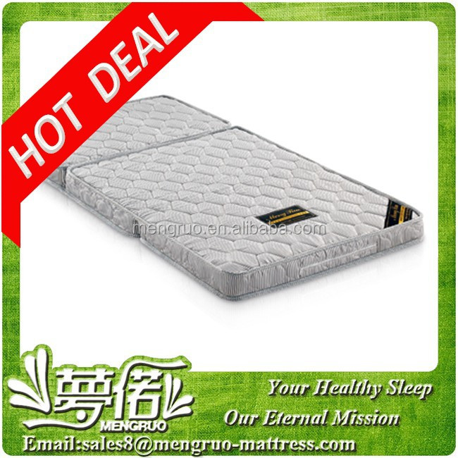 wholesale good Folding up portable three foldable fold mattress - Jozy Mattress   Jozy.net