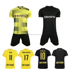 2017-2018 Wholesale sports clothing customize blank soccer jersey/design your own soccer jersey.