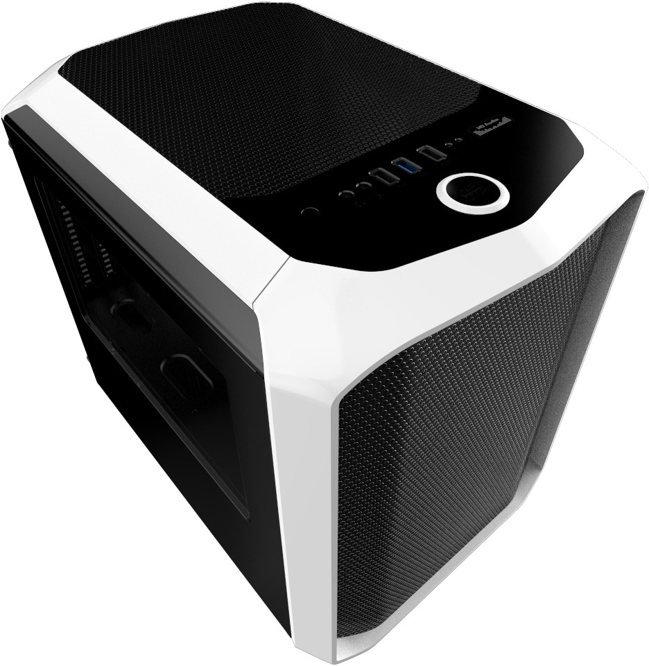 Cube Micro ATX Gaming Case Water Cooling System Supported