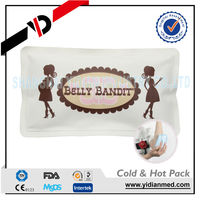 EU standard nylon/PE gel soft hot cold pack